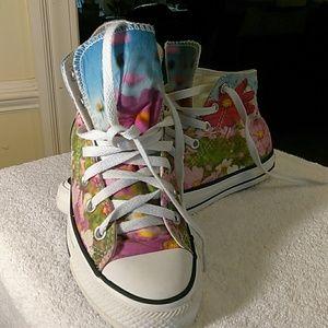 Converse all star ladies high top sneakers